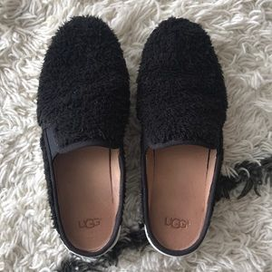 UGG Slip On Black Mule